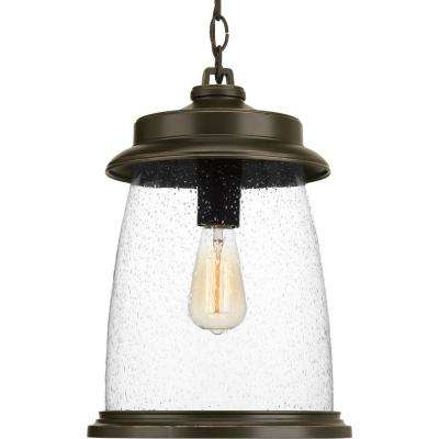 Conover Collection Antique Bronze 1-Light Outdoor Hanging Lantern