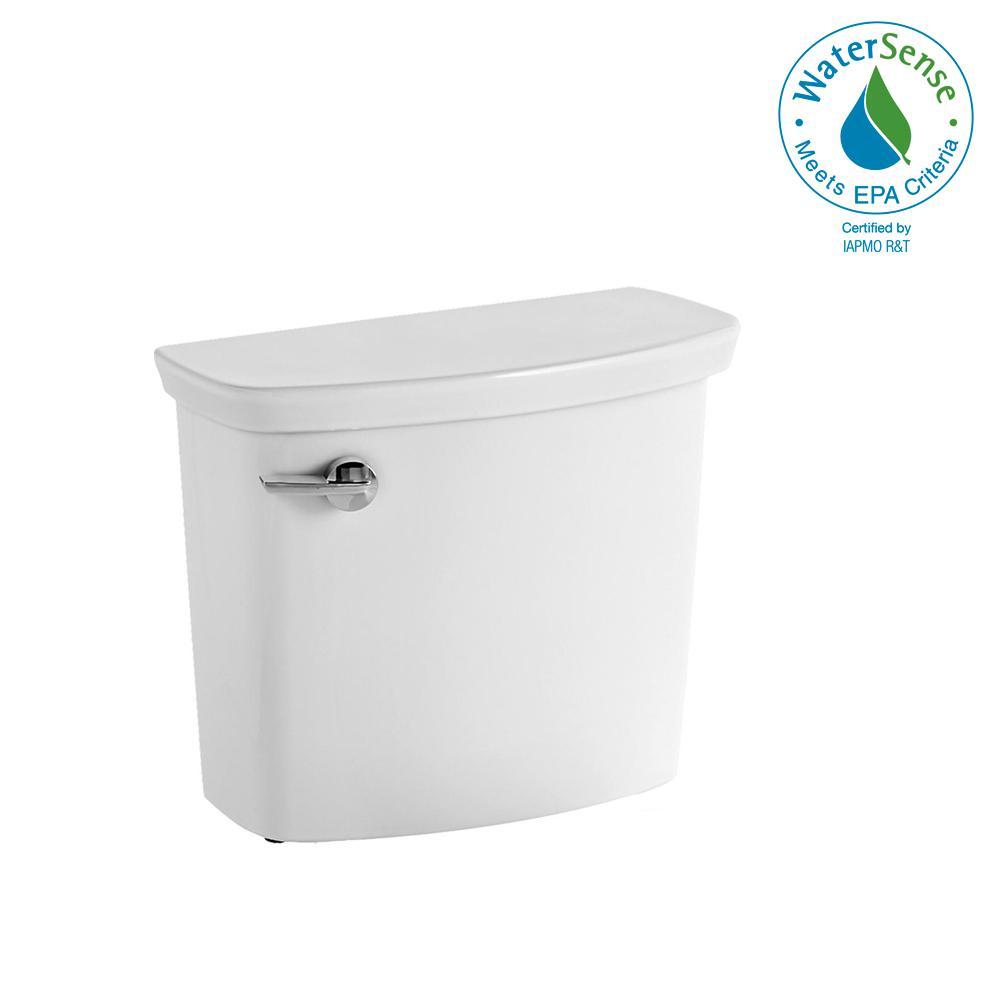 Vormax Uhet 1 GPF Single Flush Toilet Tank Only in White