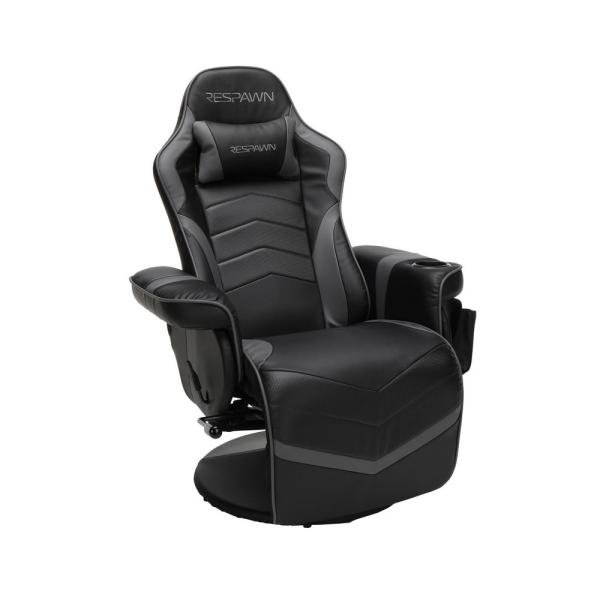 Unbranded 900 Racing Style Gaming Recliner Reclining Gaming Chair In Gray Rsp 900 Gry Rsp 900 Gry The Home Depot