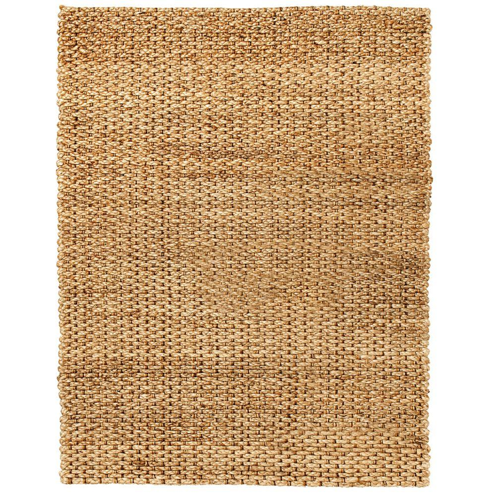 Cira Brown 5 ft. x 8 ft. Jute Area Rug