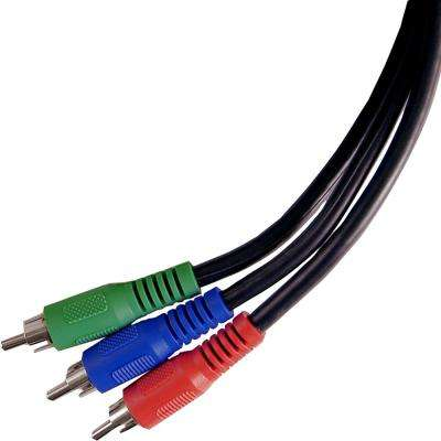 6 ft. Component Video Cable, RCA-Type Connectors, Shielded