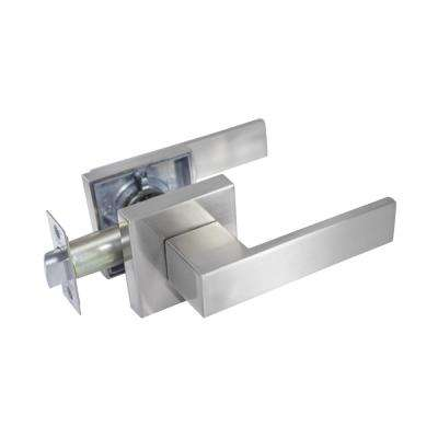 Lisabon Premium Satin Nickel Passage Hall/Closet Door Lever