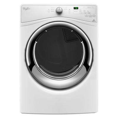 7.4 cu. ft. Gas Dryer with Quick Dry Cycle in White