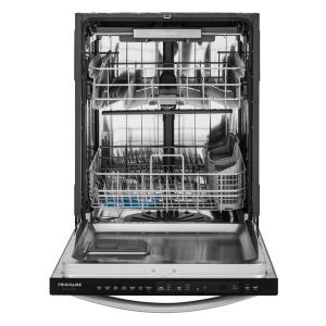+10. Frigidaire Gallery Top Control Built In Tall Tub Dishwasher In Smudge Proof  Stainless Steel