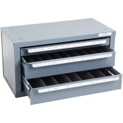 14-5/8 in. 3-Drawer Tap and Drill Tool Case