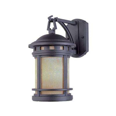 Sedona 3-Light Oil Rubbed Bronze Outdoor Wall-Mount Lantern