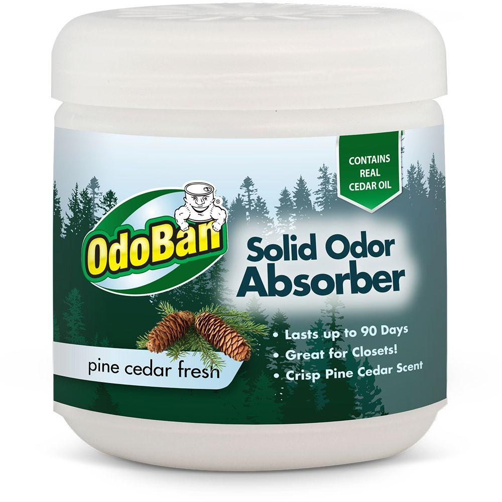 OdoBan 14 oz. Cedar Solid Odor Absorber-DISCONTINUED