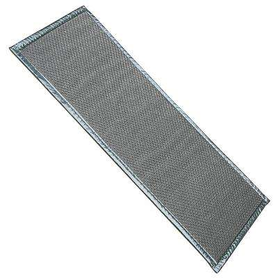 Gray 16 in. x 32 in. Boot Mat