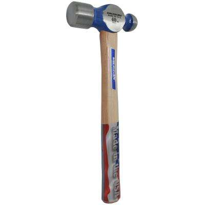 40 oz. Steel Ball Pein Hammer with 15 in. Hickory Handle