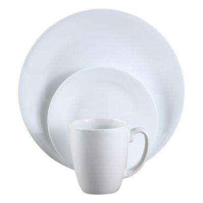Winter Frost 16-Piece Vitrelle Dinnerware Set