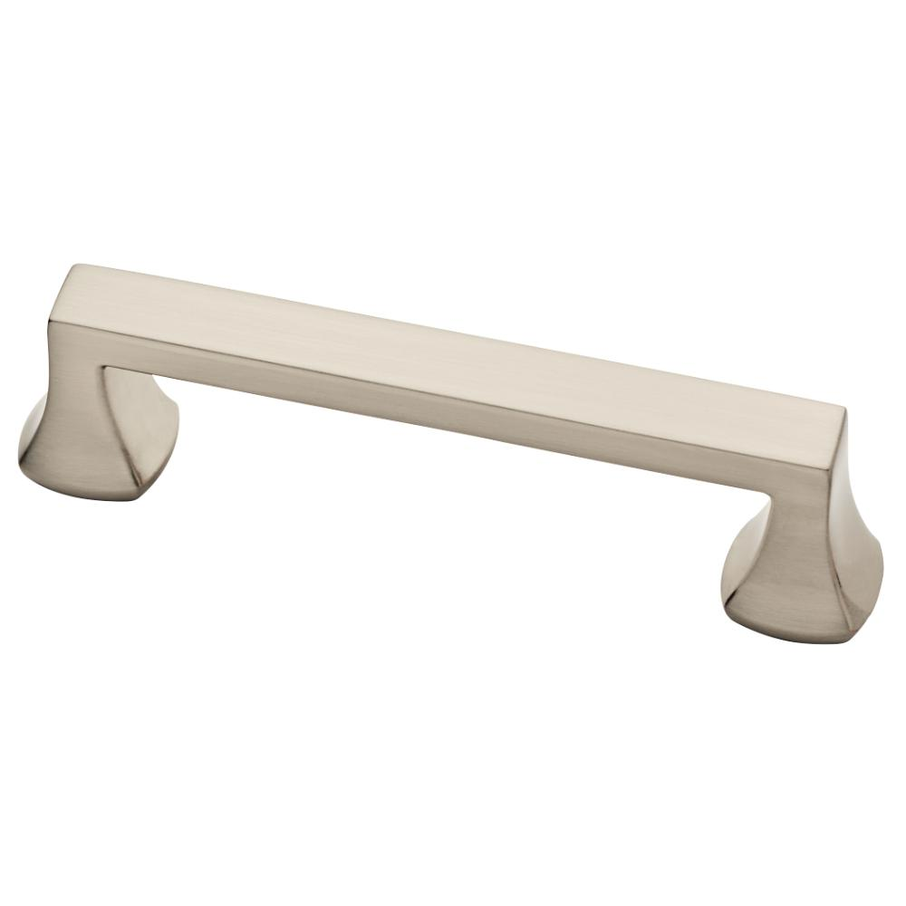 Liberty Mandara 3-3/4 in. (96 mm) Brushed Satin Nickel Drawer Pull ...