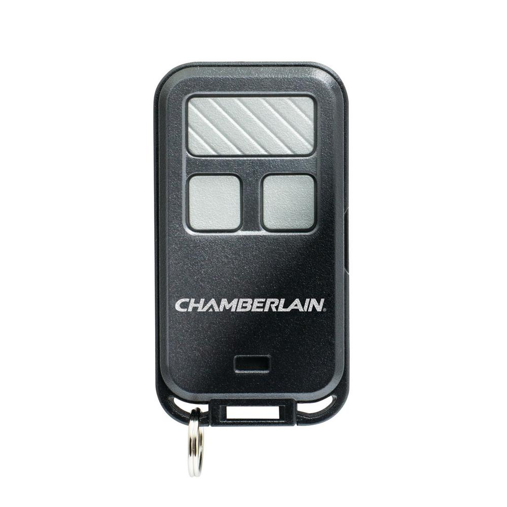 Chamberlain 3 Button Keychain Garage Door Remote Control 956ev P2 The Home Depot