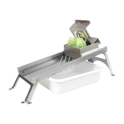 Stainless Steel Countertop Mandolin Style Cabbage Shredder