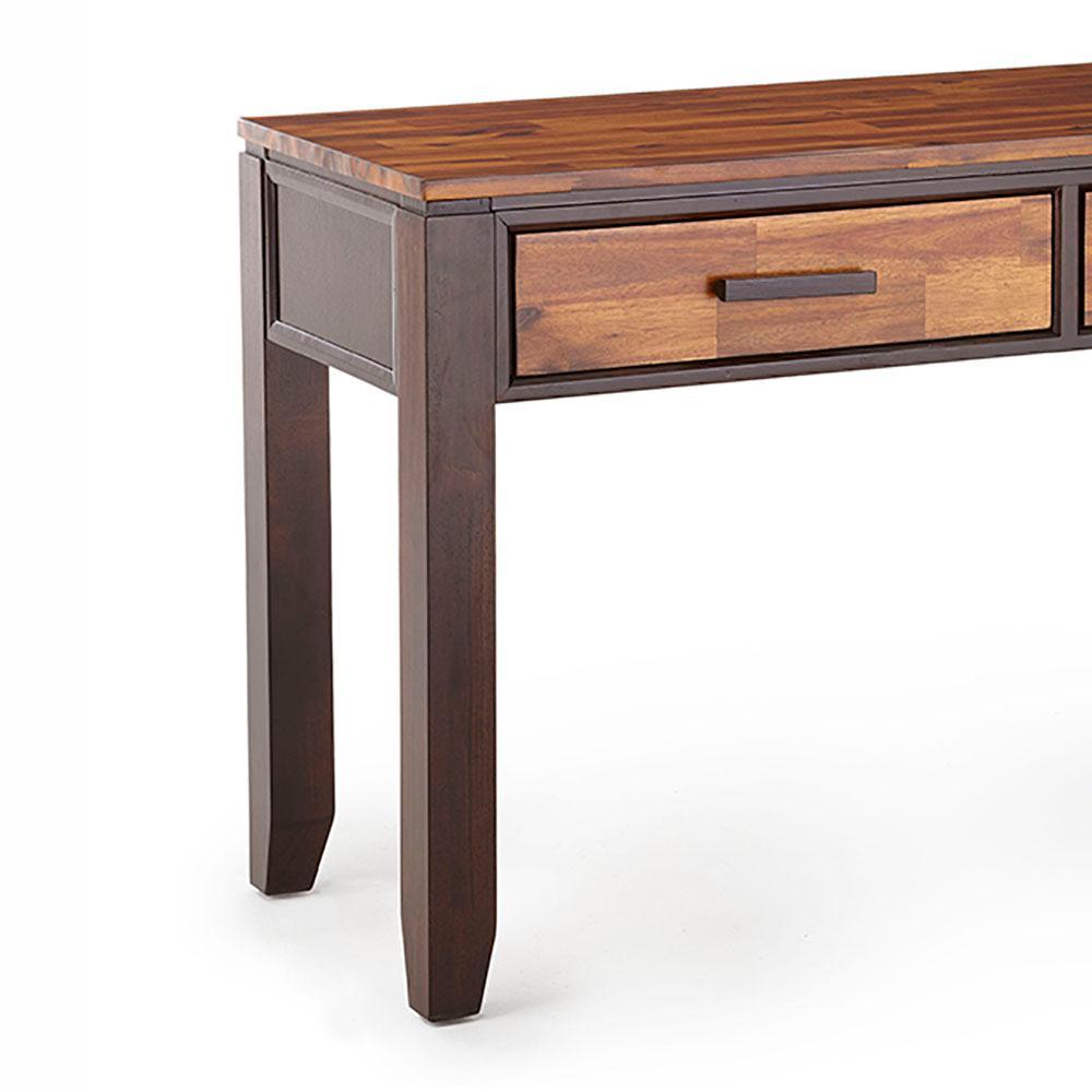 Abaco Modern 2 Tone Cherry Sofa Table