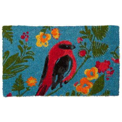 Song Bird 18 in. x 30 in. Coir Door Mat