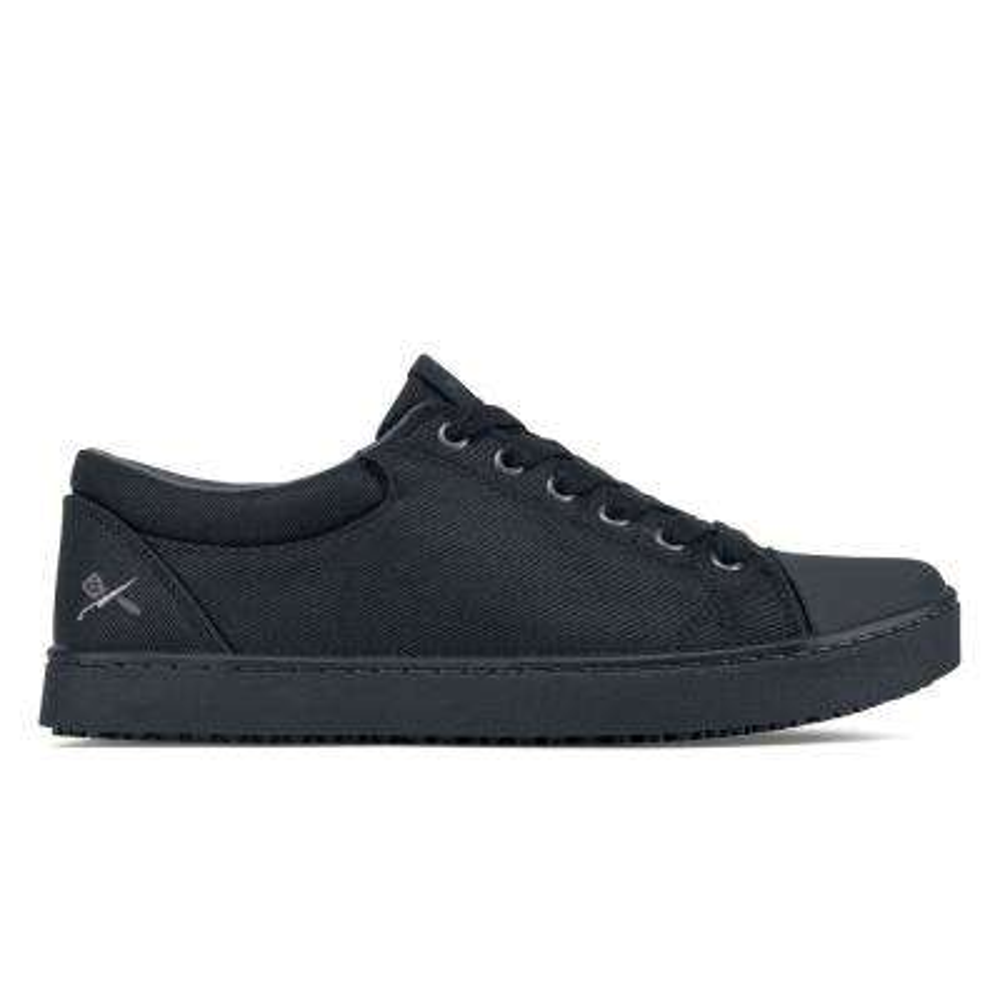 Grind Men's Size 8M Black Mesh/Synthetic Slip-Resistant Work Shoe