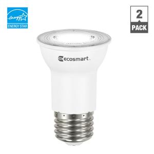 35w equivalent bright white par16 dimmable led flood light bulb 2pack
