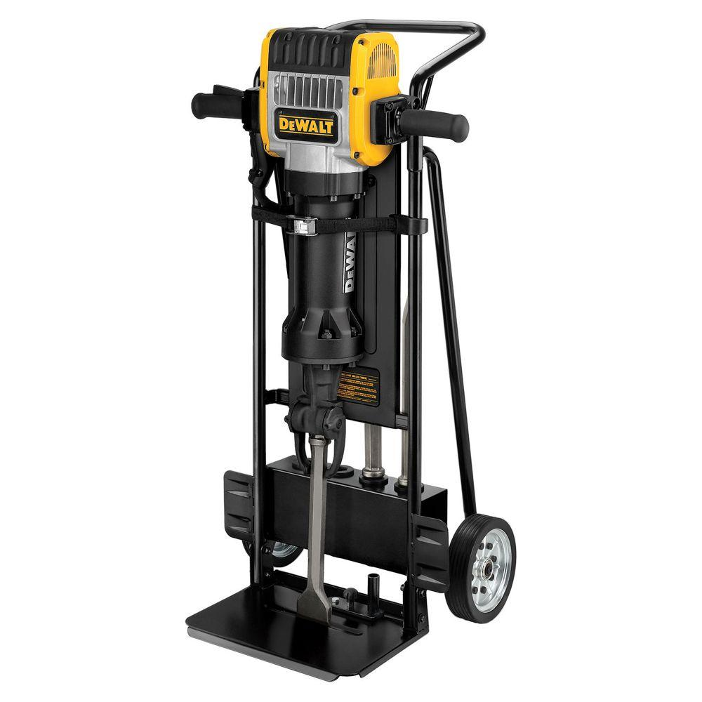 Heavy Duty Pavement Breaker with Hand Truck and Steel (3-Chisel)