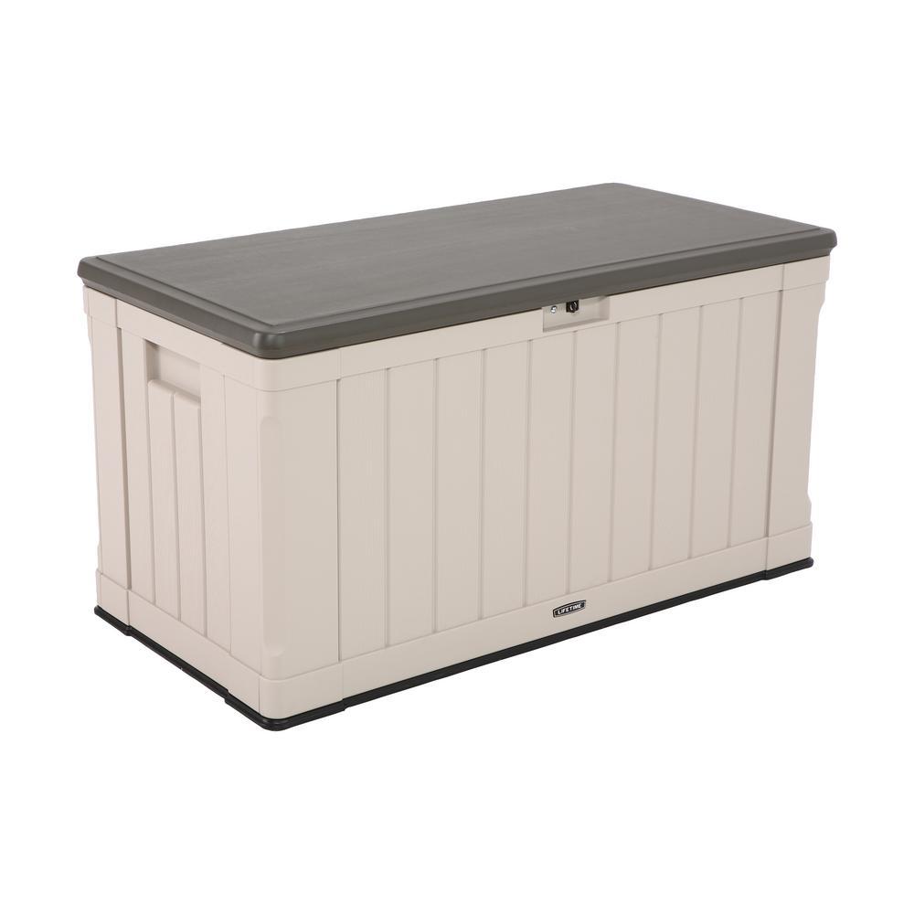 116 Gal. Heavy-Duty Outdoor Storage Deck Box