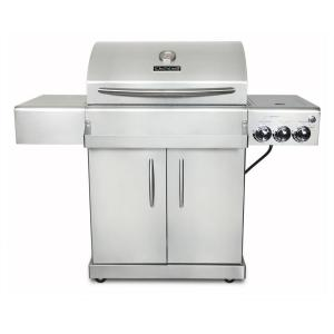 Chef's Grill Infrared Technology 2-Burner Infrared Propane Gas Grill in Stainless Steel by Chef's Grill