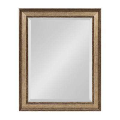 Corrigan Rectangle Gold Wall Mirror