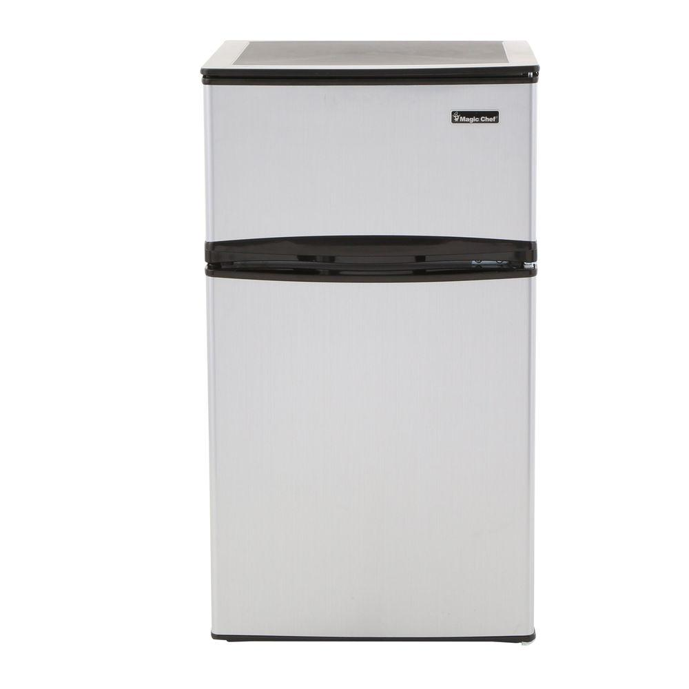 High Quality Mini Refrigerator In Stainless Look