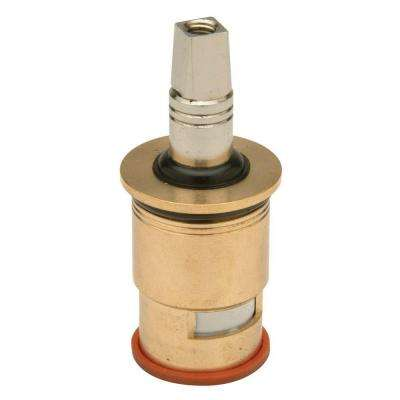 Hot Short Stem 1/4 Turn Ceramic Disc Lead-Free Cartridge