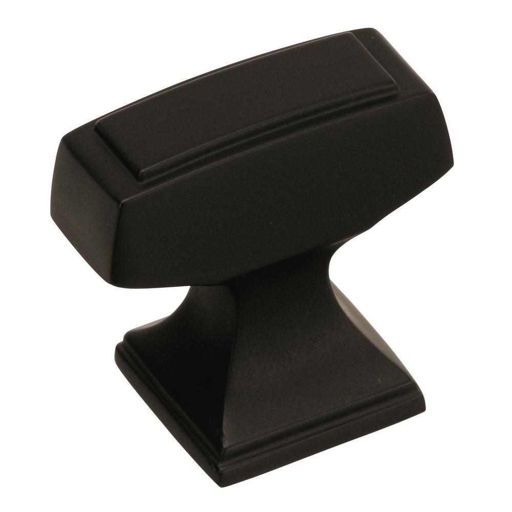 Mulholland 1-1/4 in. L (32 mm) Black Bronze Cabinet Knob