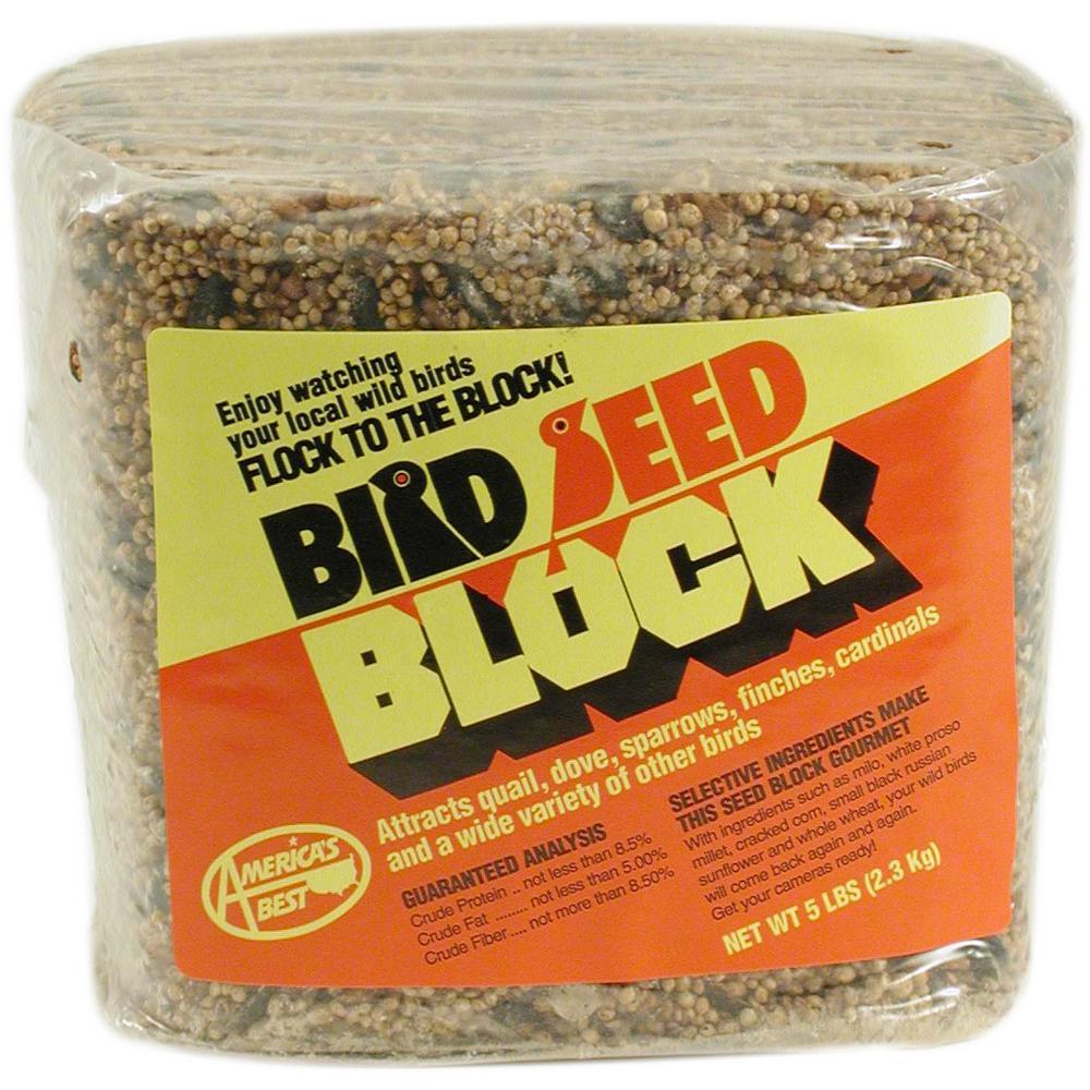 5 lb. Bird Seed Block