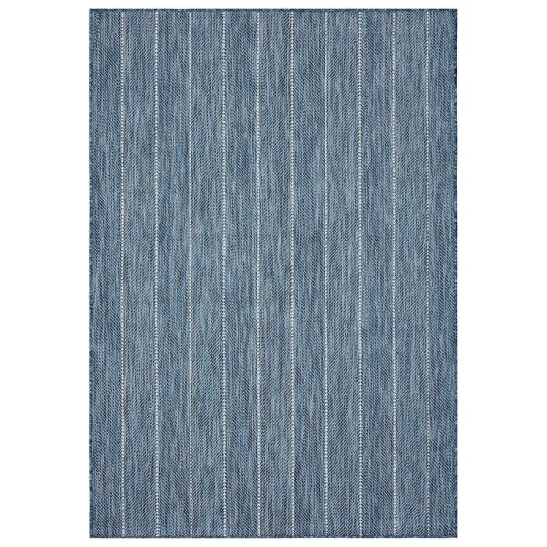 Mercer Street Rugs Aloha Mikole Marine 5 Ft 3 In X 7 Ft 7 In Indoor Outdoor Area Rug Mikol Marin 53x77 The Home Depot