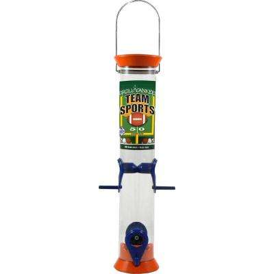 15 in. Teams Sports Sunflower/Mixed Seed Bird Feeder