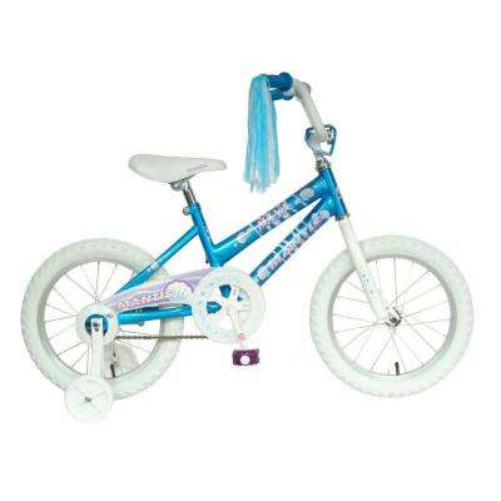 Maya Kid's Bike, 16 in. Wheels, 10.5 in. Frame, Girls' Bike in Blue