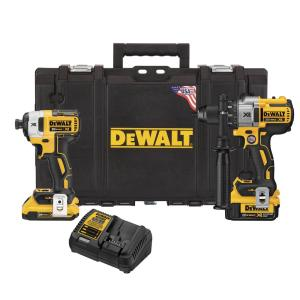 Dewalt 20-Volt MAX XR Lithium-Ion Cordless Drill/Driver and Impact Combo Kit (2-Tool) with... by DEWALT