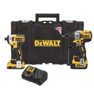 20-Volt MAX XR Lithium-Ion Cordless Drill/Driver and Impact Combo Kit (2-Tool) with 2Ah and 4Ah Batteries and Tough Case