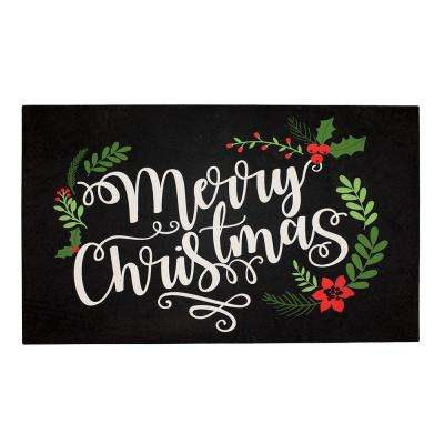 Winter Nights 18 in. x 30 in. Elegant Entry Door Mat