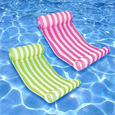 Key West Lime and Pink Swimming Pool Hammock Combo (2-Pack)