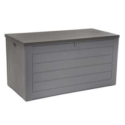 180 Gal. Resin Storage Deck Box in Gray