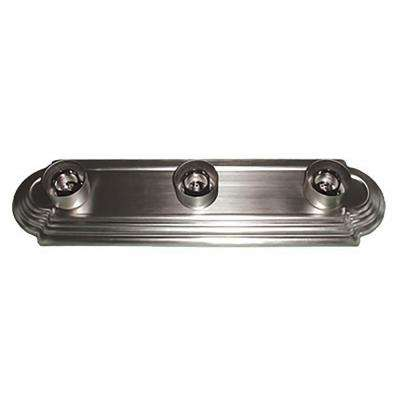 3-Light Satin Nickel Bath Light