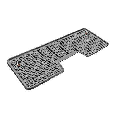 Floor Liner Rear 1-Piece Gray 2009-2013 Ford F150 Extended and Crew Cab