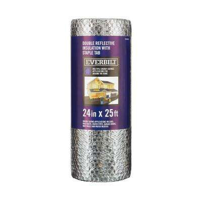 24 in  x 25 ft  Double Reflective Insulation Staple Tab