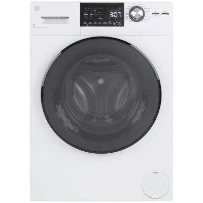 2.4 cu. ft. White High-Efficiency 120-Volt Ventless Electric All-in-One Washer Dryer Combo
