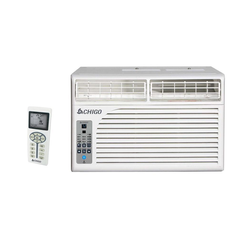 CHIGO Energy Star 6,400 BTU Window Air Conditioner with R...