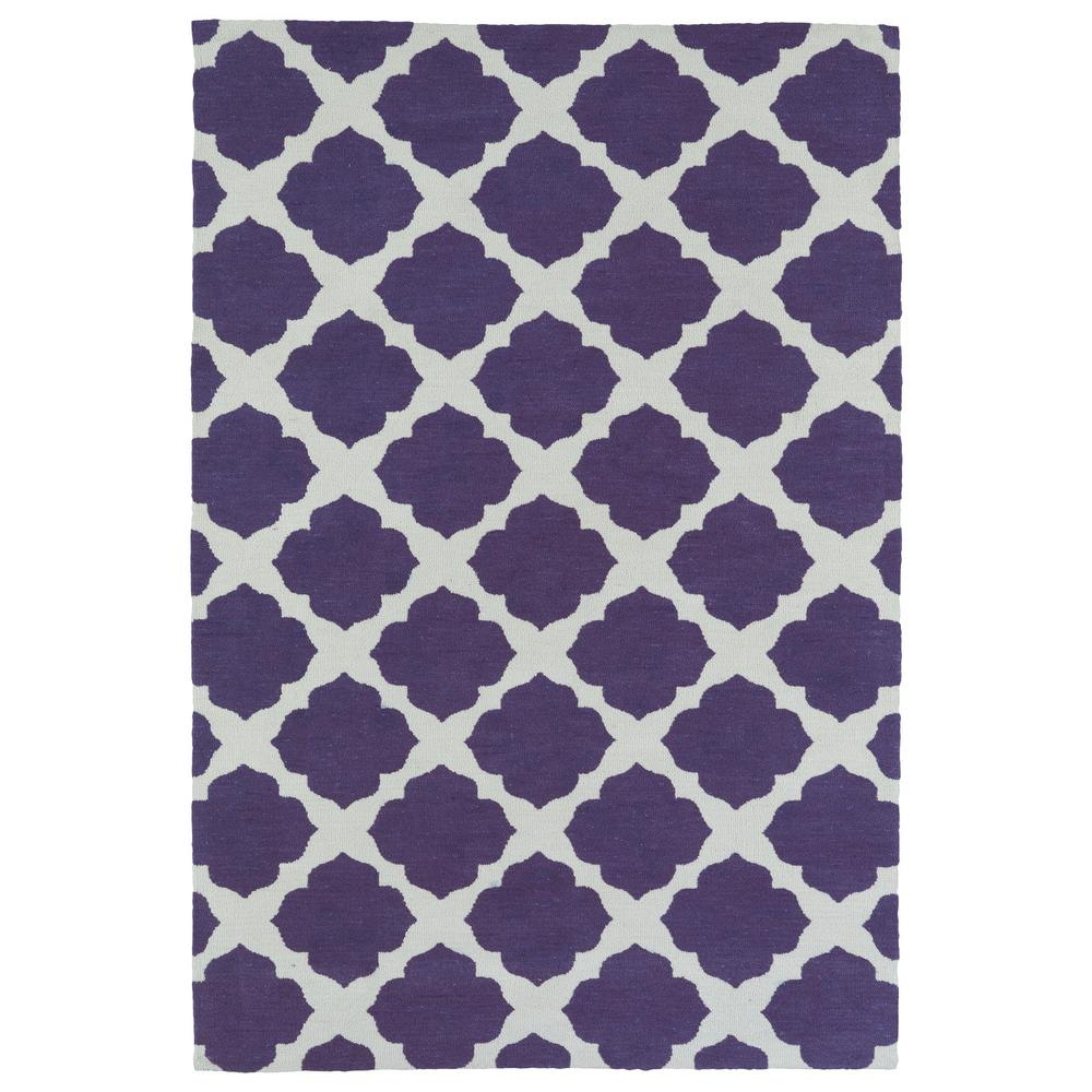 Lily and Liam Purple 5 ft. x 7 ft. Area Rug