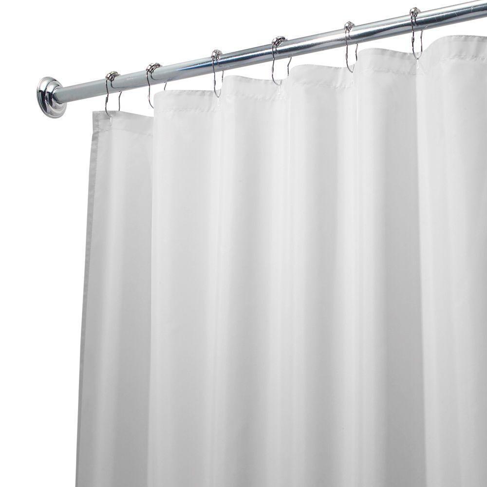 Interdesign Eva Shower Curtain Liner In Clearfrost 14759cx The