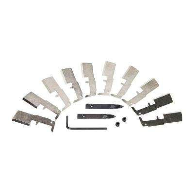 1-1/2 in. SWITCHBLADE High Speed Steel Blade Replacement Kit (10-Blades)