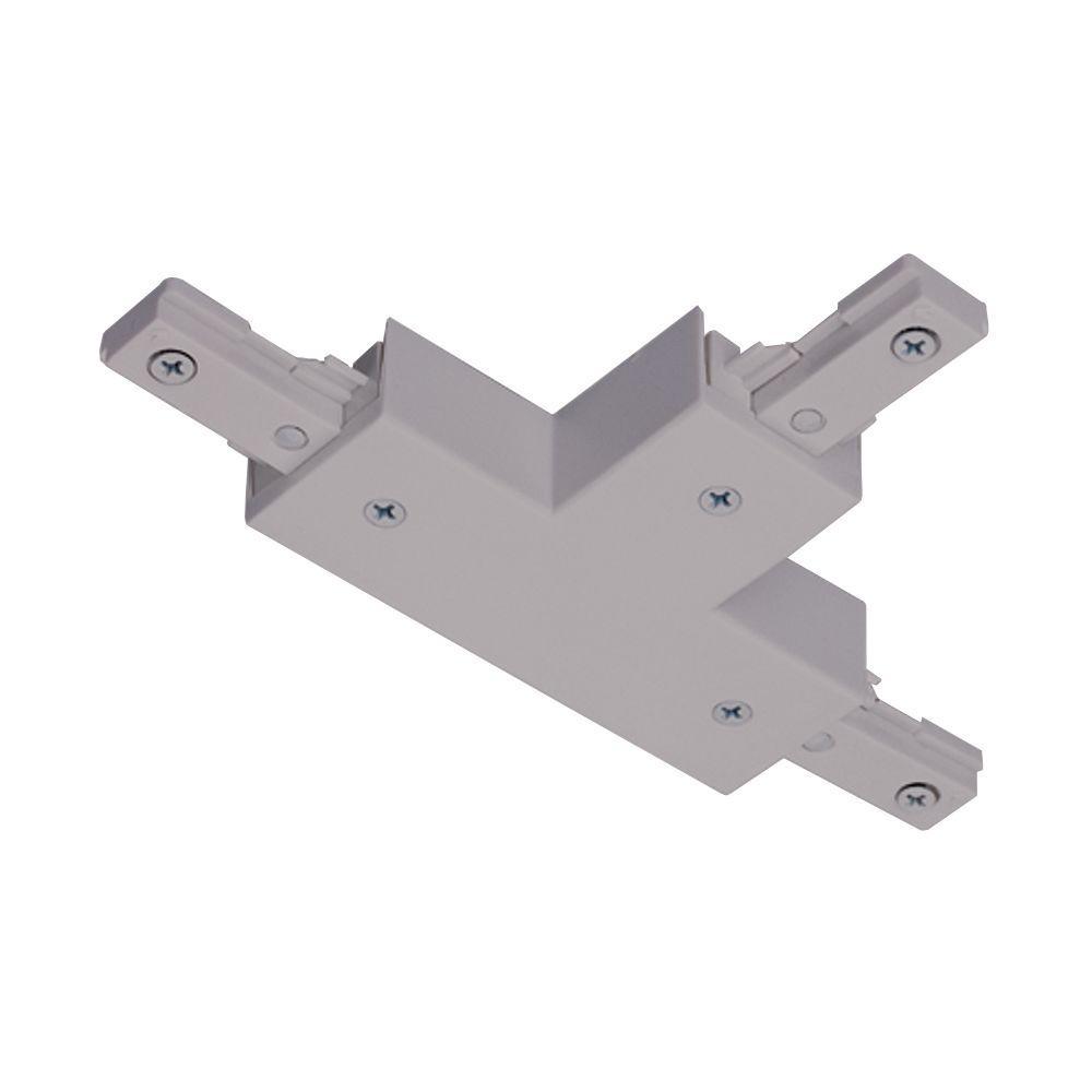 Juno Trac-Lites Nickel T Connector