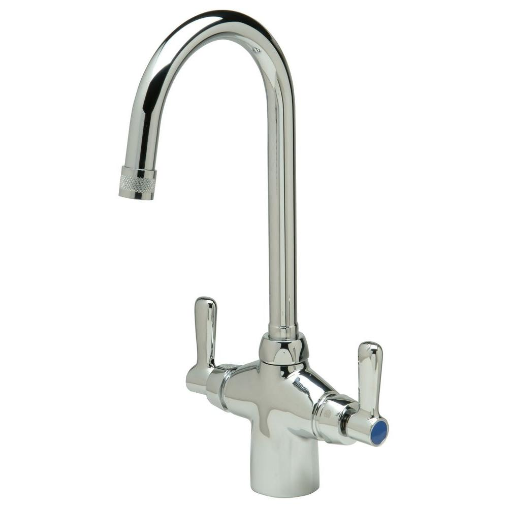 Zurn Single Hole 2-Handle Bathroom Faucet in Chrome-Z826B1-XL - The ...