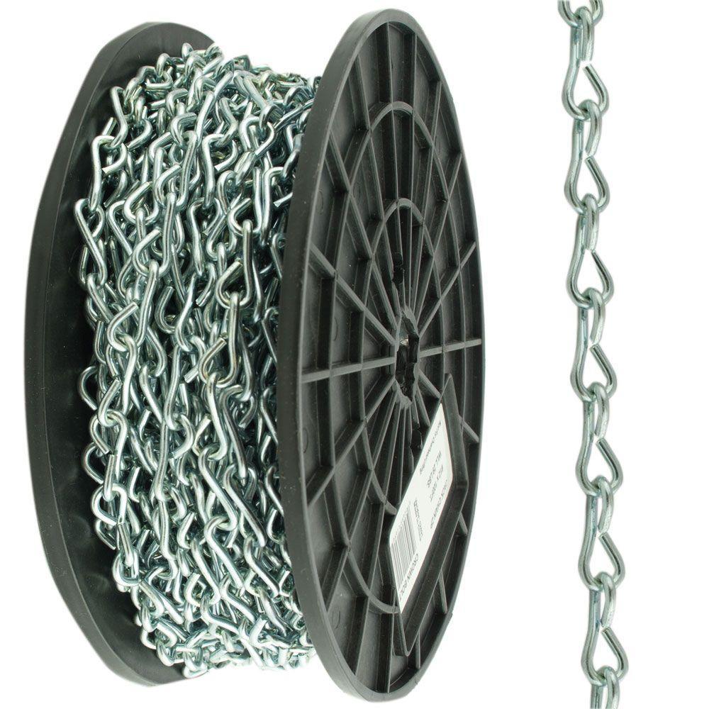 #10 x 100 ft. Zinc Steel Plated Jack Chain