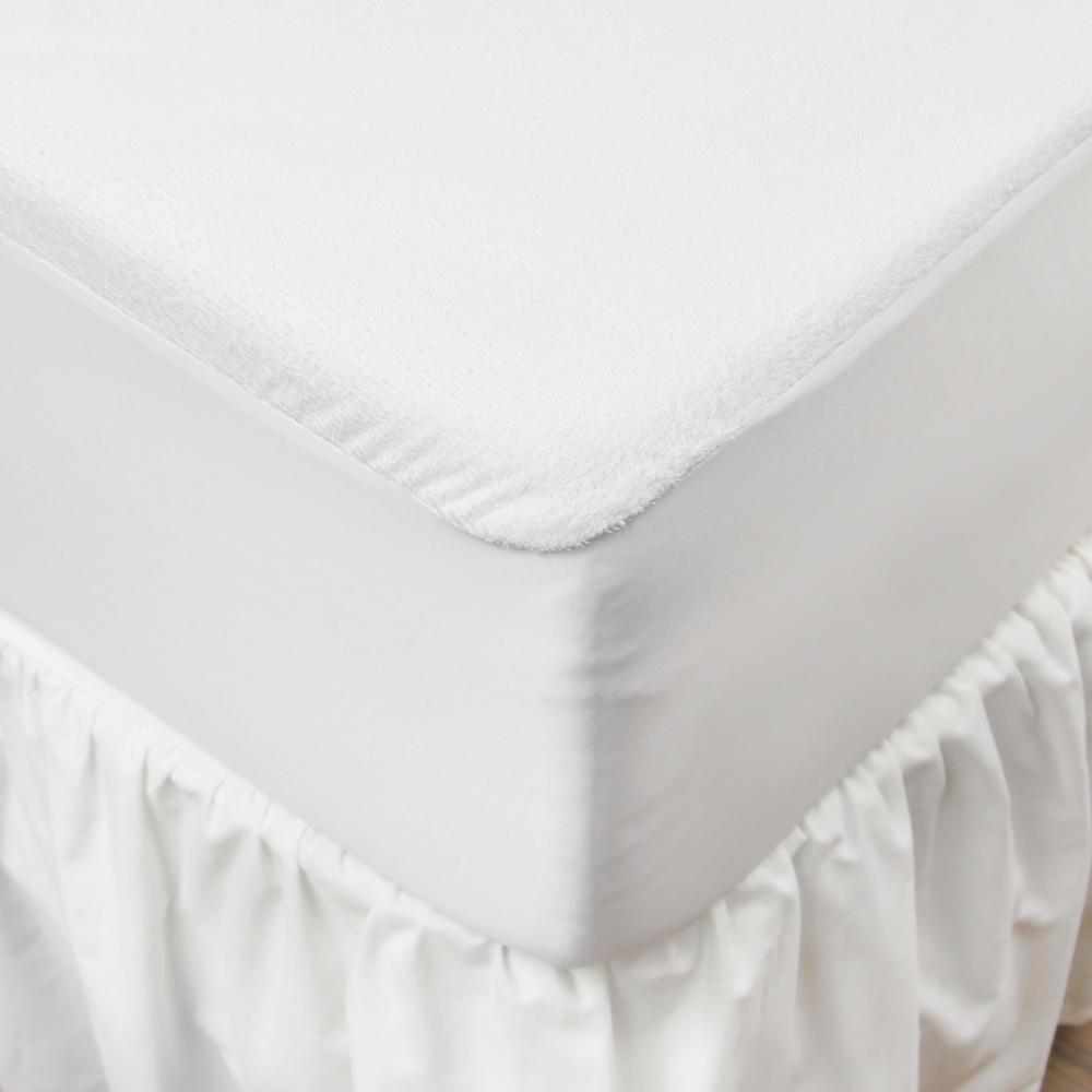 Furinno Furinno Waterproof Hypoallergenic Mattress Protector - Twin, White