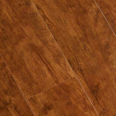 Hand Scraped Laurel Cherry 6 mm x 7-1/16 in. Width x 48 in. Length Vinyl Plank Flooring (23.64 sq.ft./case)